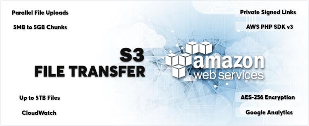 AWS Amazon S3 - File Transfer - 1